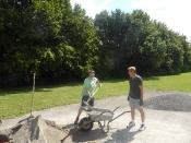 Bau des Bouleplatzes_49