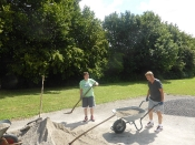 Bau des Bouleplatzes_50