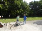 Bau des Bouleplatzes_52