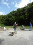 Bau des Bouleplatzes_54