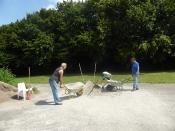 Bau des Bouleplatzes_55